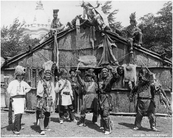 Longhouse by Charles Dudley Arnold, 1901